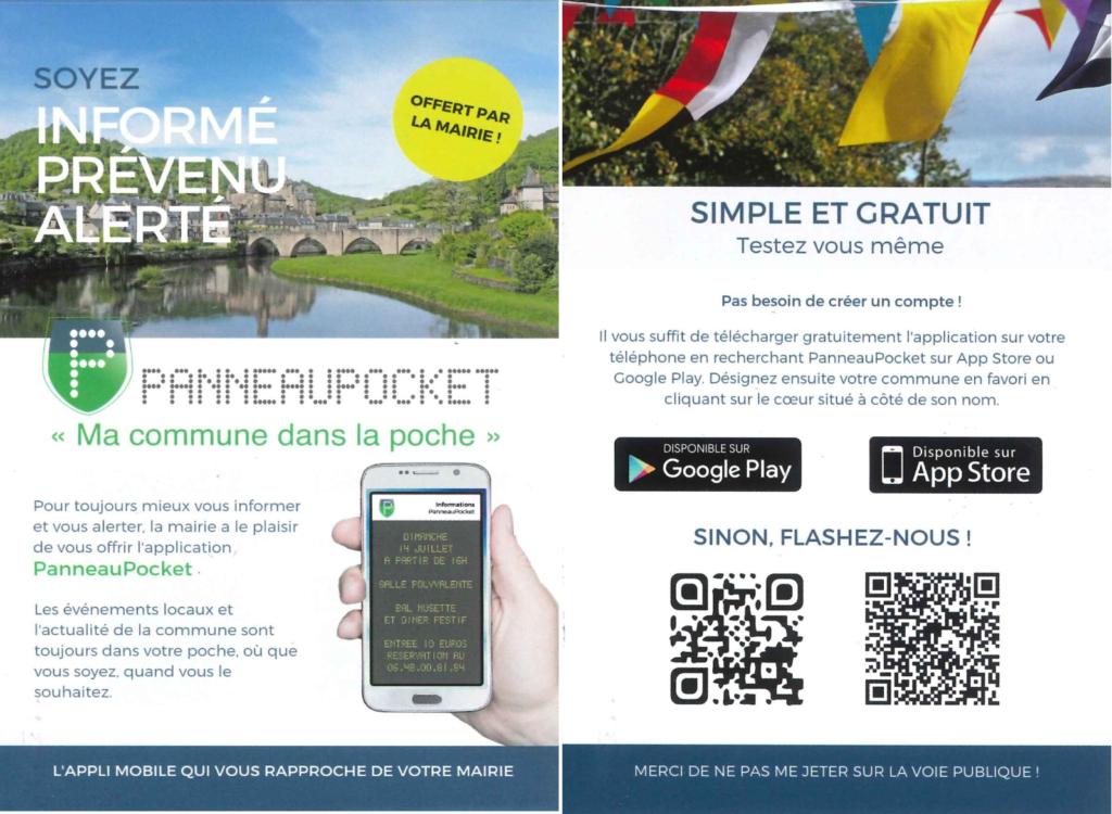 Flyer Panneau pocket